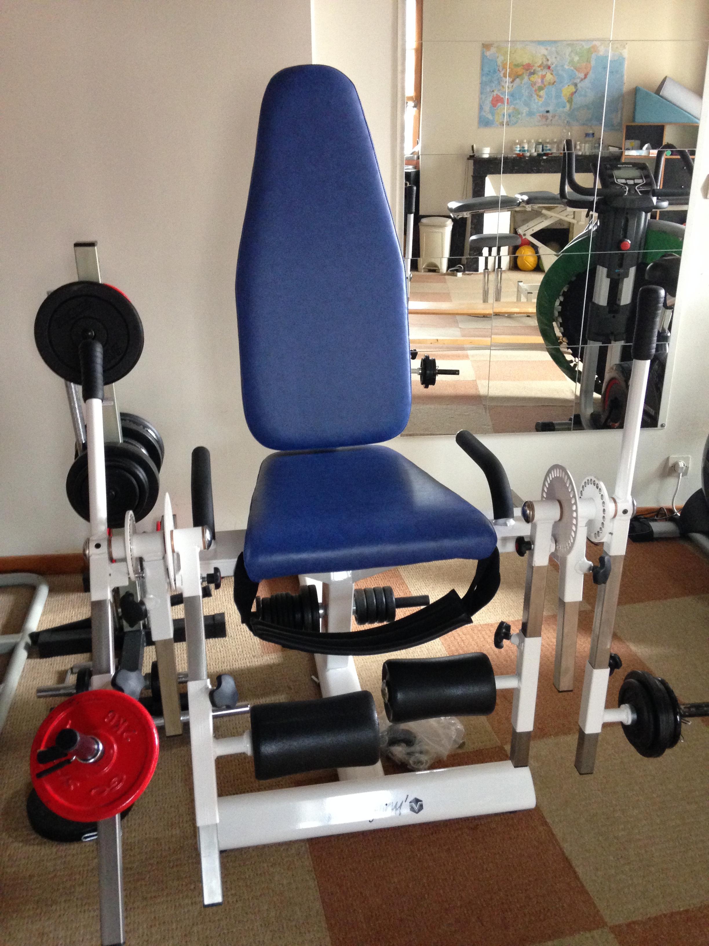 chaise de musculation cabinet kin podologue lorrez le bocage preaux pr s de nemours et. Black Bedroom Furniture Sets. Home Design Ideas